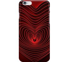 Modern Art Smart and Stylish Heart iPhone Case/Skin