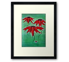 Self-raising Flowers! Framed Print