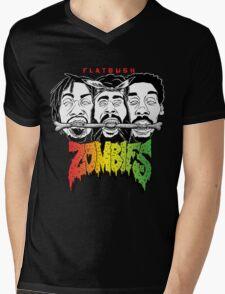 FLATBUSH ZOMBIES BONE EATER Mens V-Neck T-Shirt