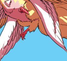 magical unicorn bird Sticker