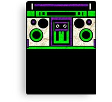 Boombox 1987 Canvas Print