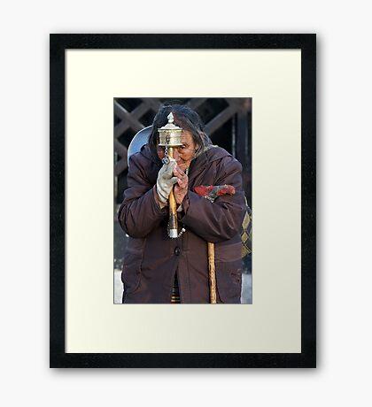 Pilgrim 10 Framed Print