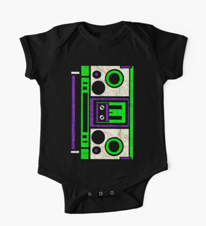 Boombox 1987- XXL One Piece - Short Sleeve