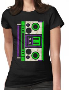 Boombox 1987- XXL Womens Fitted T-Shirt
