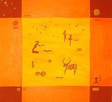 Dialogue orange by fontaineau2009