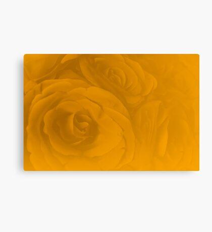 Modern Art Smart Stylish Wall Art Golden Rose Canvas Print