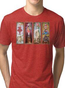 Haunted Arkham Asylum Tri-blend T-Shirt