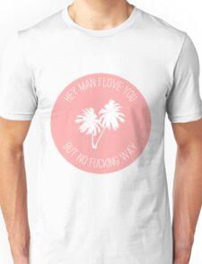 Twin Sized Mattress Lyrics (Peach) Unisex T-Shirt
