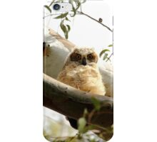 Cute Furry Owl  iPhone Case/Skin