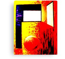 Abstract  Primary colours  Canvas Print