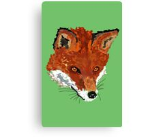 Sly as a Fox Canvas Print