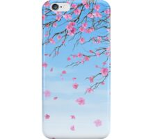 Cherry Blossoms Blue Sky iPhone Case/Skin
