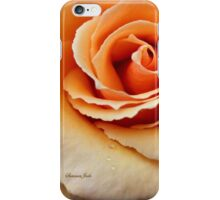 Whiskey Rose ~ Smoky and Sensuous iPhone Case/Skin