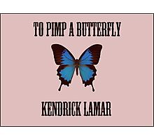 To Pimp a Butterfly - Kendrick Lamar Photographic Print