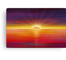 Modern Art Smart Stylish Wall Art Vivid Sunrise Canvas Print