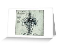 Siphonophore Greeting Card
