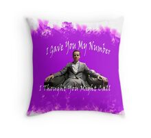 I Thought You Might Call Throw Pillow