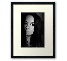Forever silenced Framed Print