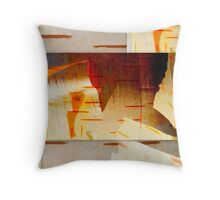 Golden Pages... Throw Pillow