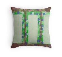 The bright outside Throw Pillow