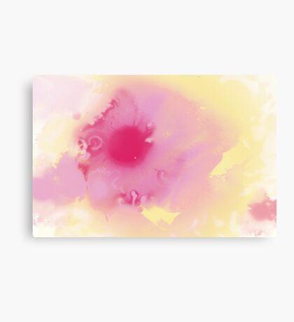 Modern Art Smart Stylish Wall Art Pastel Canvas Print