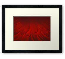 Modern Art Smart Stylish Wall Art Red Bloom Framed Print