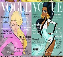 All Princesses of Vogue  by D5DBEST