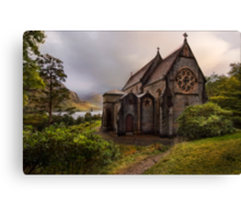 The Church of St. Mary and St. Finnan, Glenfinnan Canvas Print