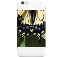 A Yellow Swallow's Tail iPhone Case/Skin