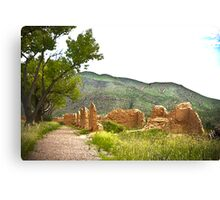 Pathway To The Past Canvas Print