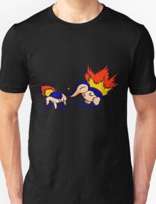 Pokemon Half-Life 2 Cyndaquil and Headcrab Playdate Unisex T-Shirt