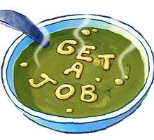 Get a Job - Spongebob by alisa-mmxii