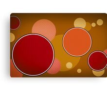 Modern Art Smart Stylish Wall Art Circles Canvas Print