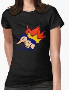 Pokemon - Cyndaquil Product Womens Fitted T-Shirt