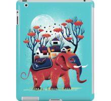 A Colorful Ride iPad Case/Skin