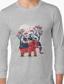 A Colorful Ride Long Sleeve T-Shirt