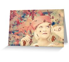 Autumn Grace Greeting Card