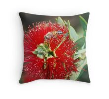 Miniture Brush Throw Pillow