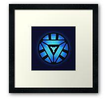 Superheroes / Mark VI Arc Reactor / Nerd & Geek Framed Print