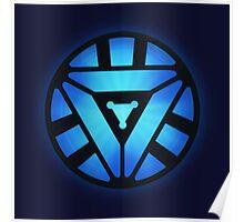 Superheroes / Mark VI Arc Reactor / Nerd & Geek Poster