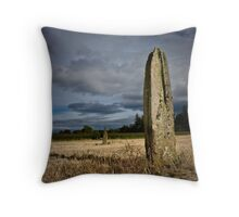 Standing Stone, Cladach Throw Pillow