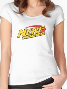 Nerf Herder Women's Fitted Scoop T-Shirt