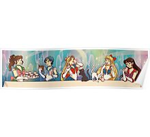 Bishoujo Senshi Sailor Moon Tea Party Poster