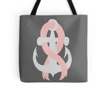 Breast Cancer Anchor Tote Bag