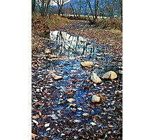CREEK, CADES COVE, GREAT SMOKY MOUNTAINS NP Photographic Print