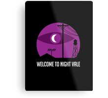 Welcome to Night Vale Metal Print