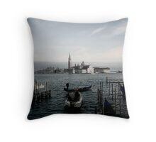 Venice Waterside Throw Pillow