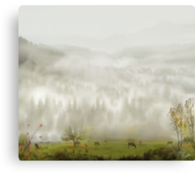 Once Upon A Time Canvas Print