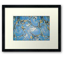 genie from aladdin. Framed Print