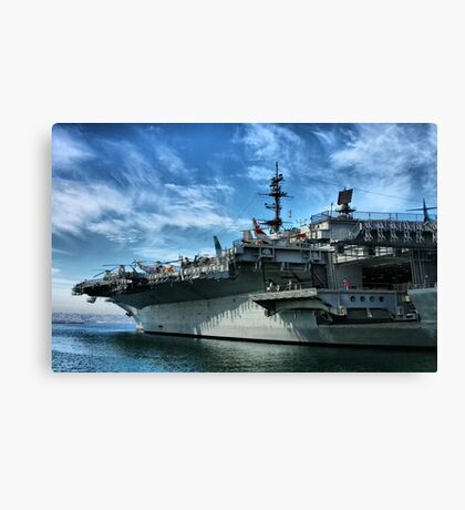 USS Midway Canvas Print